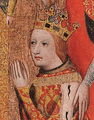 King Wenzel, prisoner of Castle Wildberg in 1394